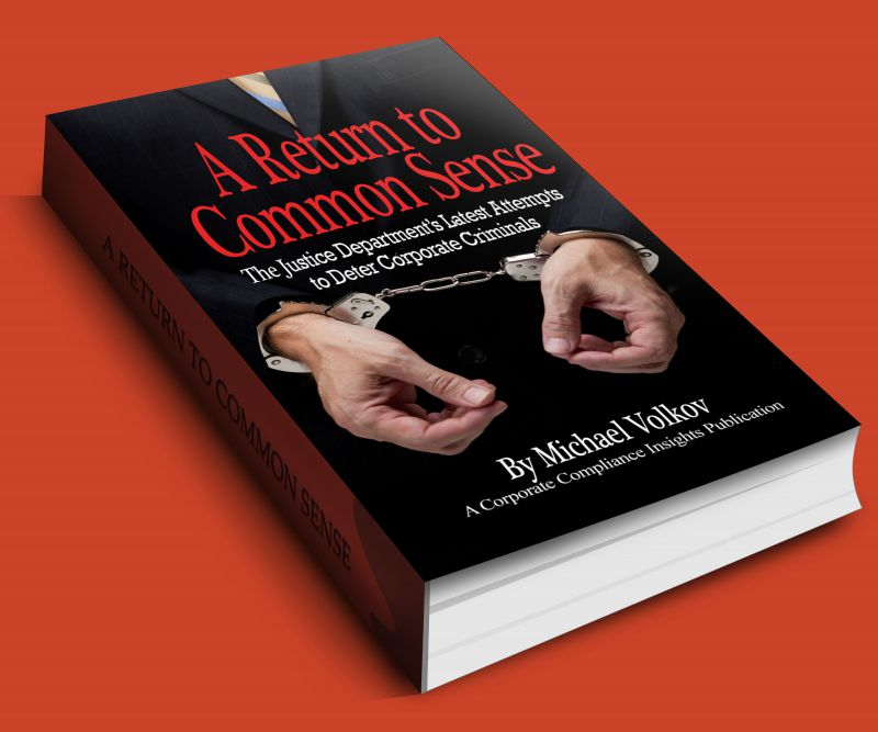 New Book Predicts Increasing Prosecutions of Individuals Part 2
