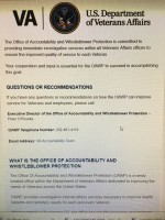 Former VA Whistleblower Assigned to VA's Brand New Office of Accountability and Whistleblower Protection