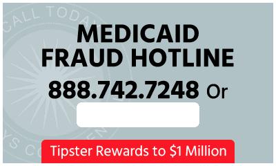 Medicaid Fraud Hotline